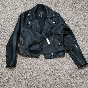 Brand new with tags VS leather jacket XS